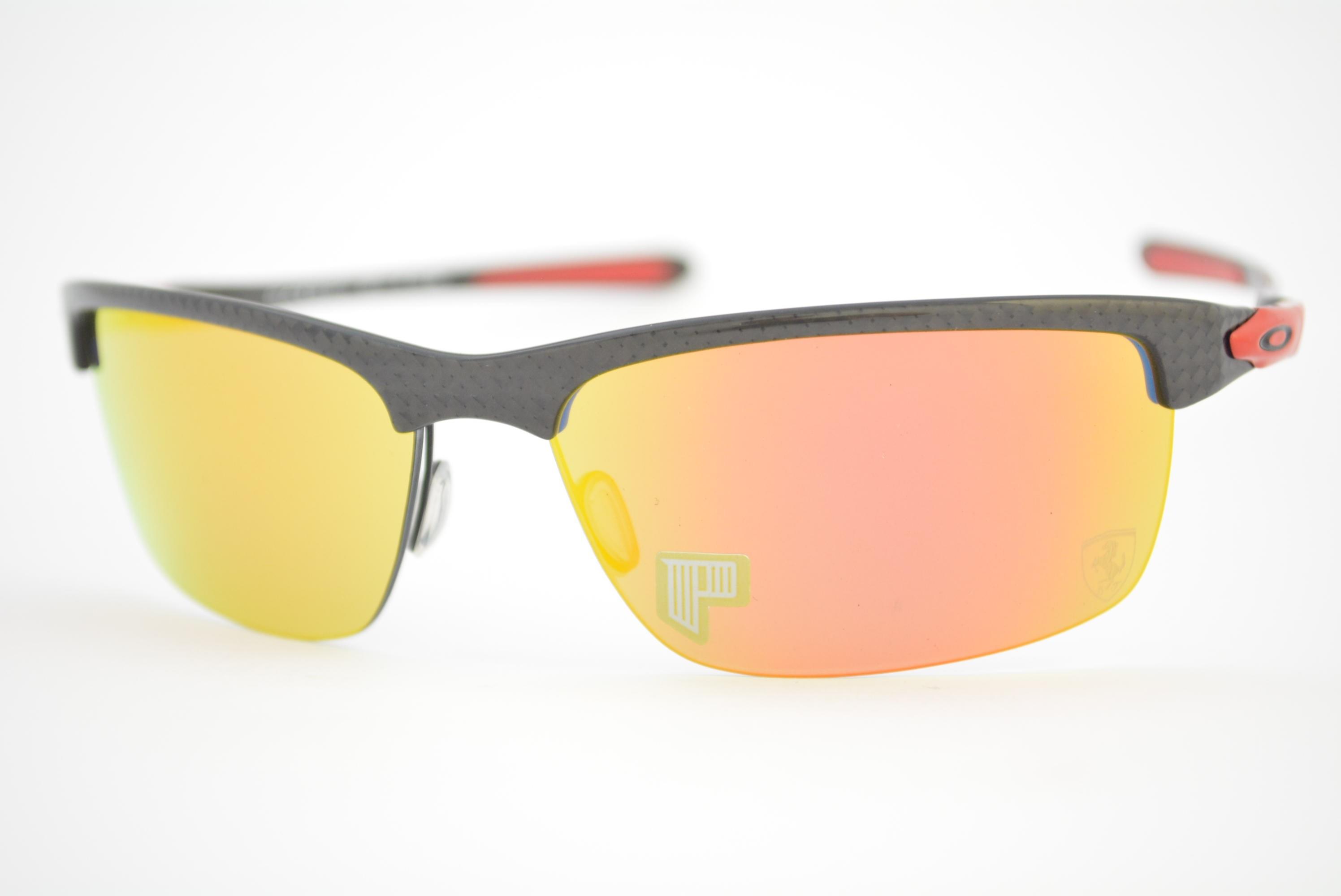 óculos de sol Oakley mod Carbon Blade polished carbon w ruby iridium  polarized 009174- 1924802057