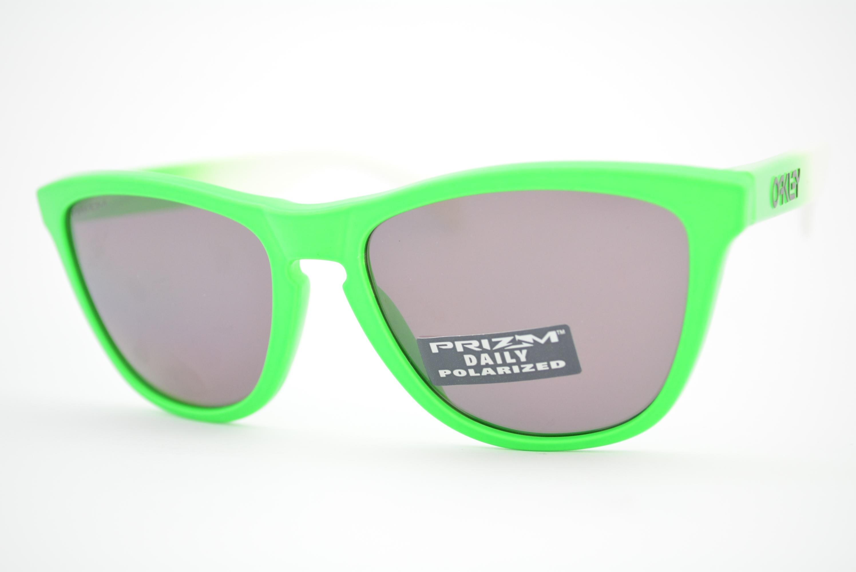 da13ace8e9517 óculos de sol Oakley mod Frogskins green fade w prizm daily polarized