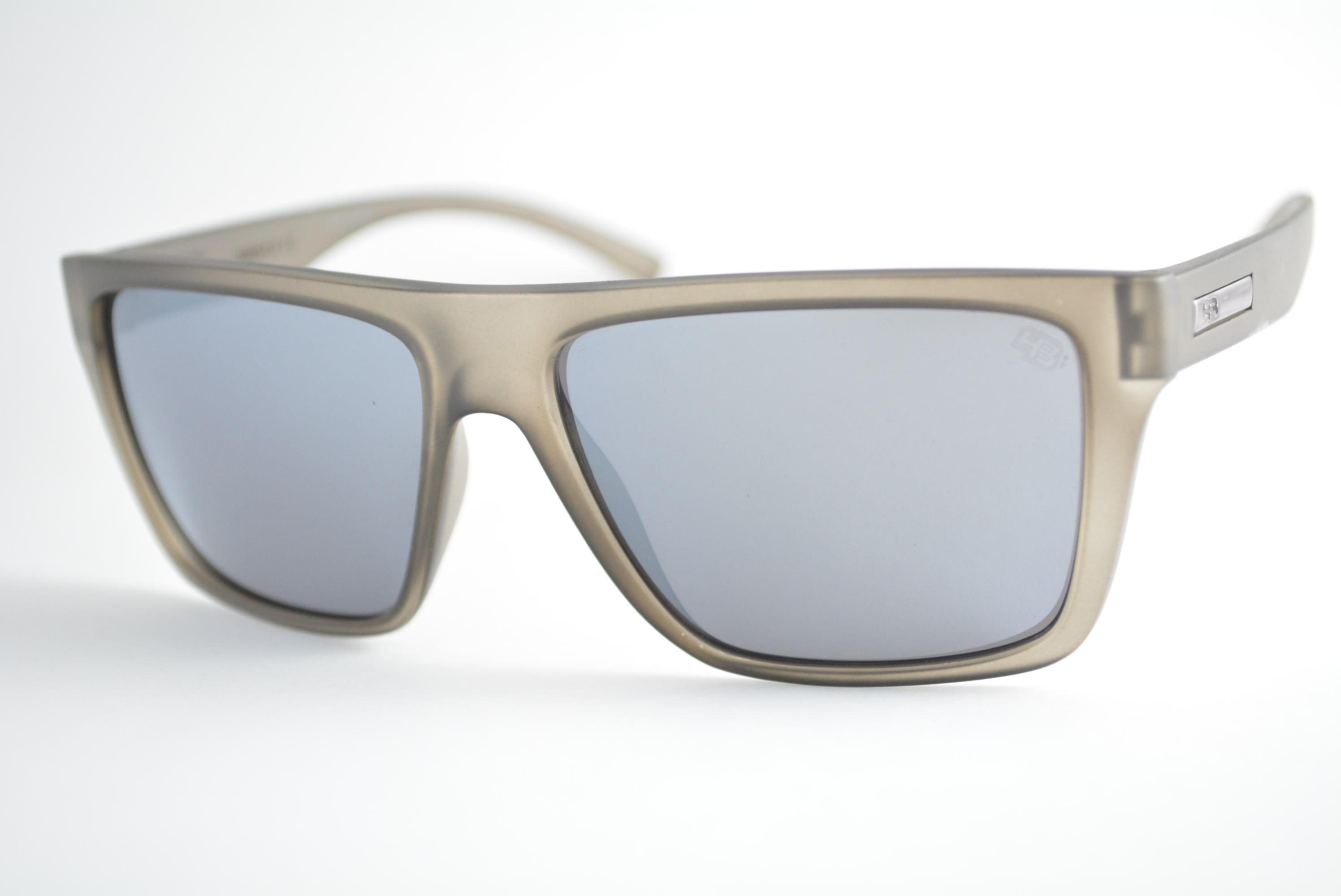 óculos de sol HB mod Floyd matte silver 90117297
