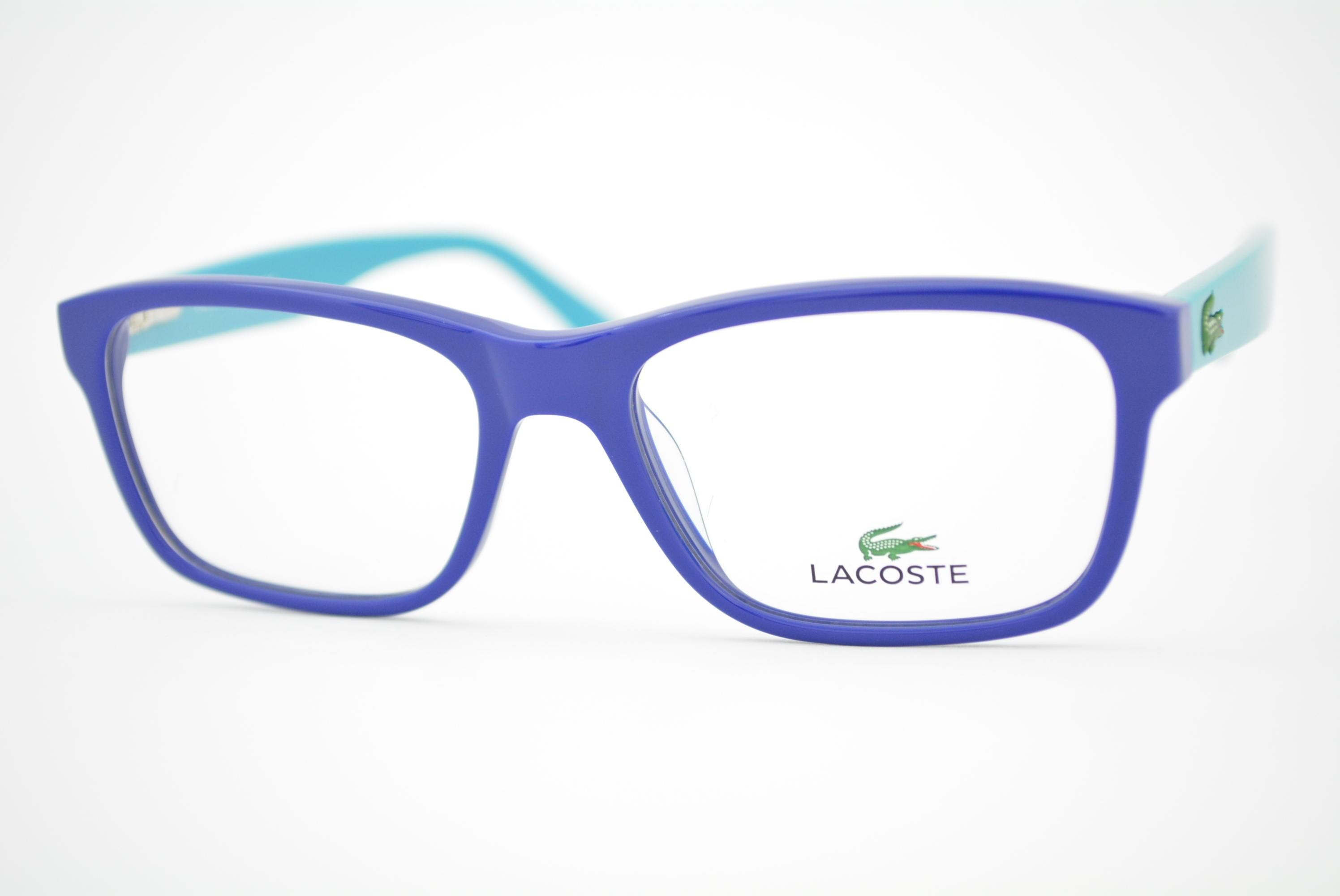 fcbb4fe2899fa armação de óculos Lacoste Infantil mod L3612 424 Ótica Cardoso