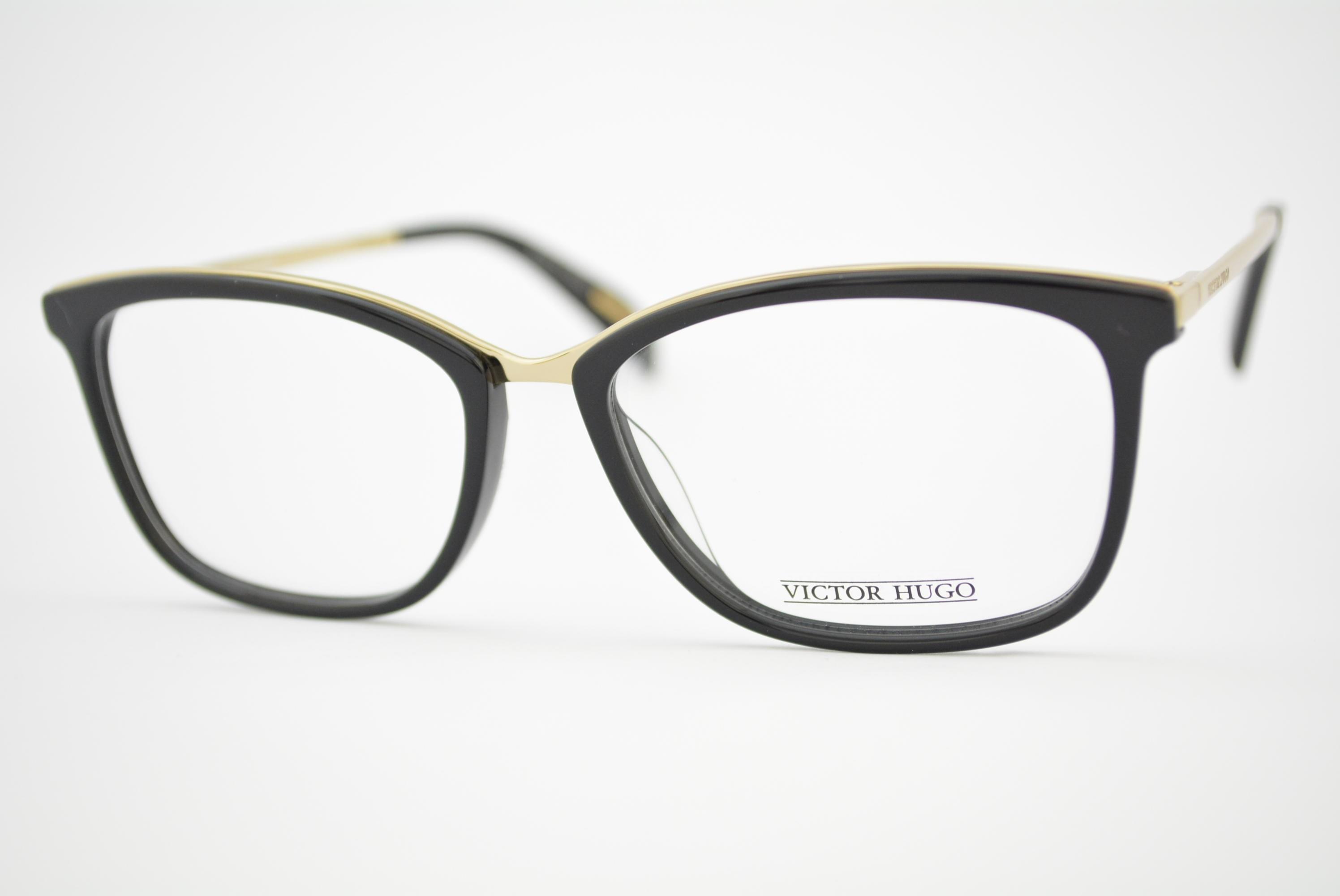 32736836f4174 armação de óculos Victor Hugo mod vh1254 col.0700 Ótica Cardoso