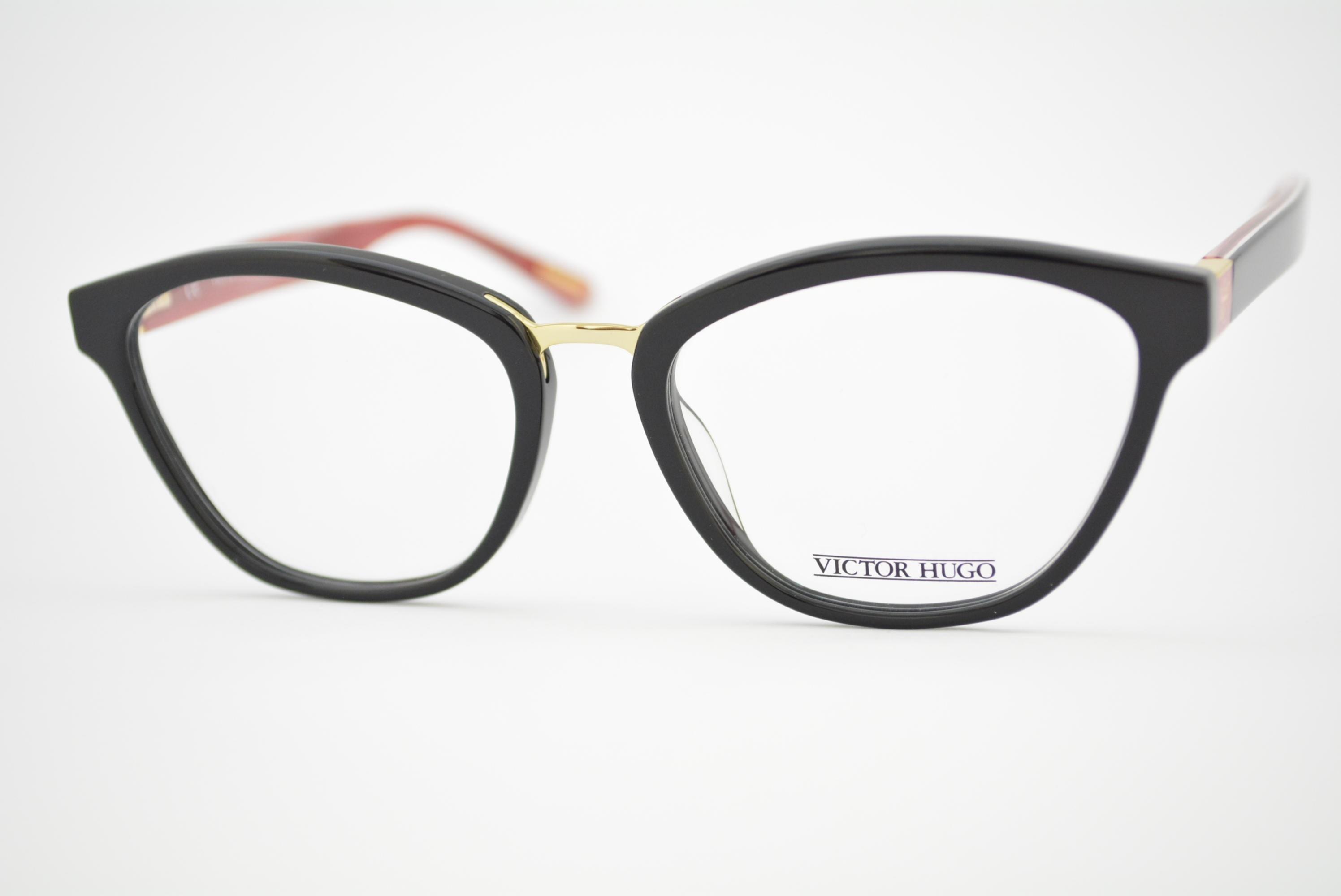14b213891d08d armação de óculos Victor Hugo mod vh1755 col.0700 Ótica Cardoso