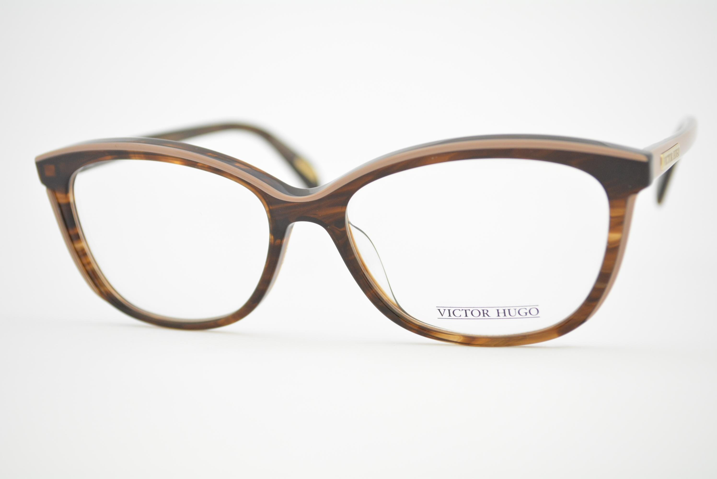 armação de óculos Victor Hugo mod vh1757 col.09R4