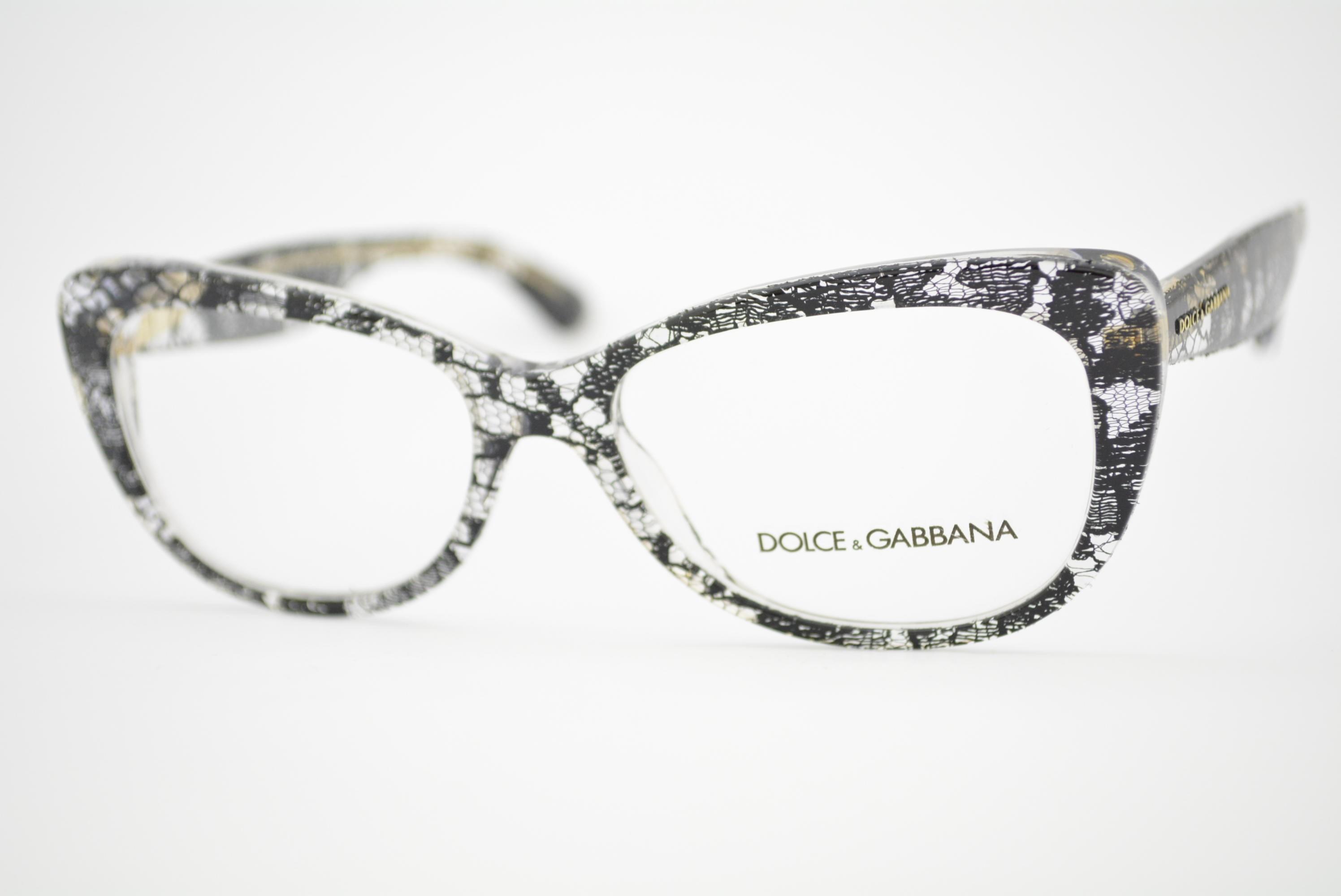 armação de óculos Dolce & Gabbana mod DG3166 1901