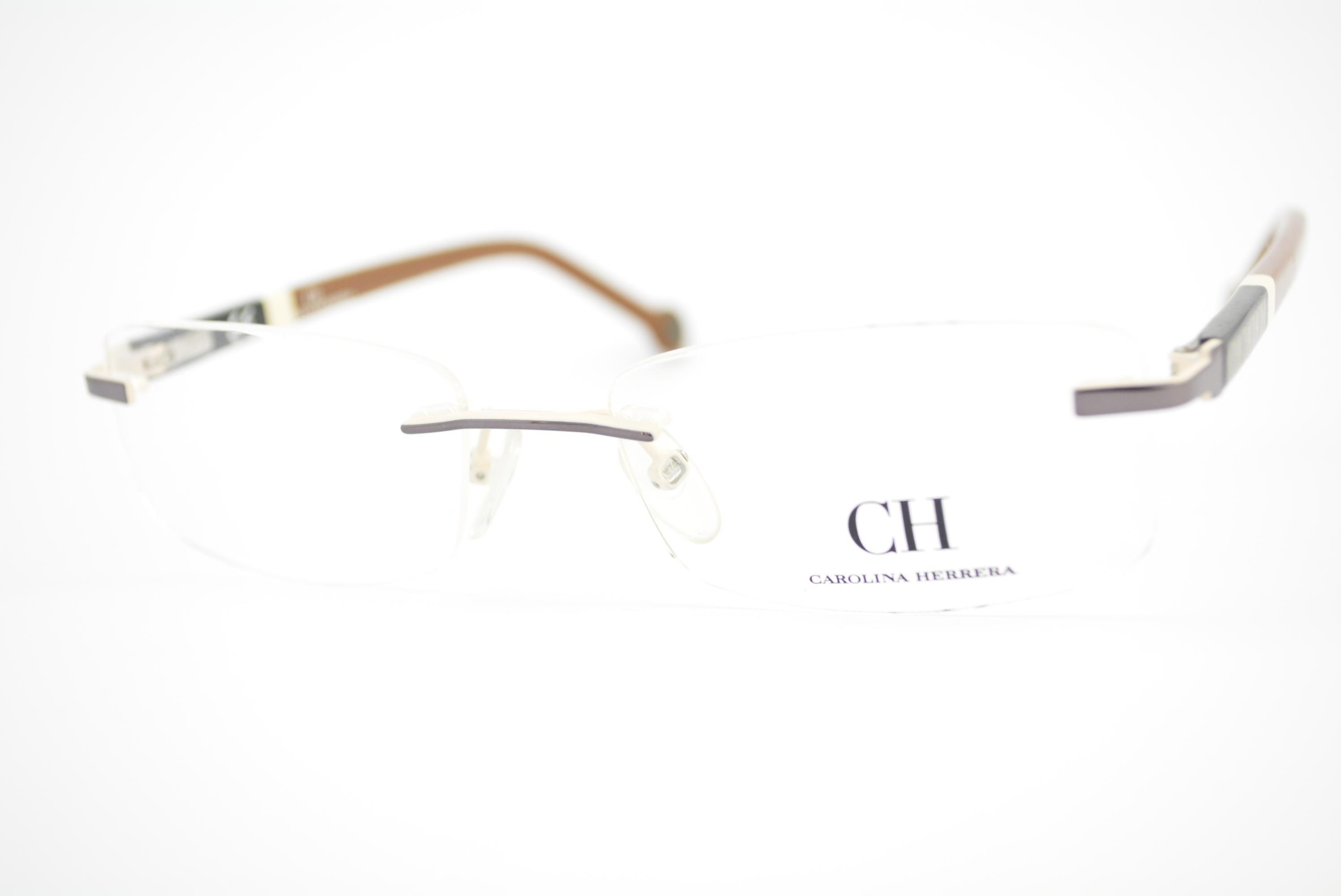 armação de óculos Carolina Herrera mod vhe040 col.0568 Ótica Cardoso a9e6fa71eb
