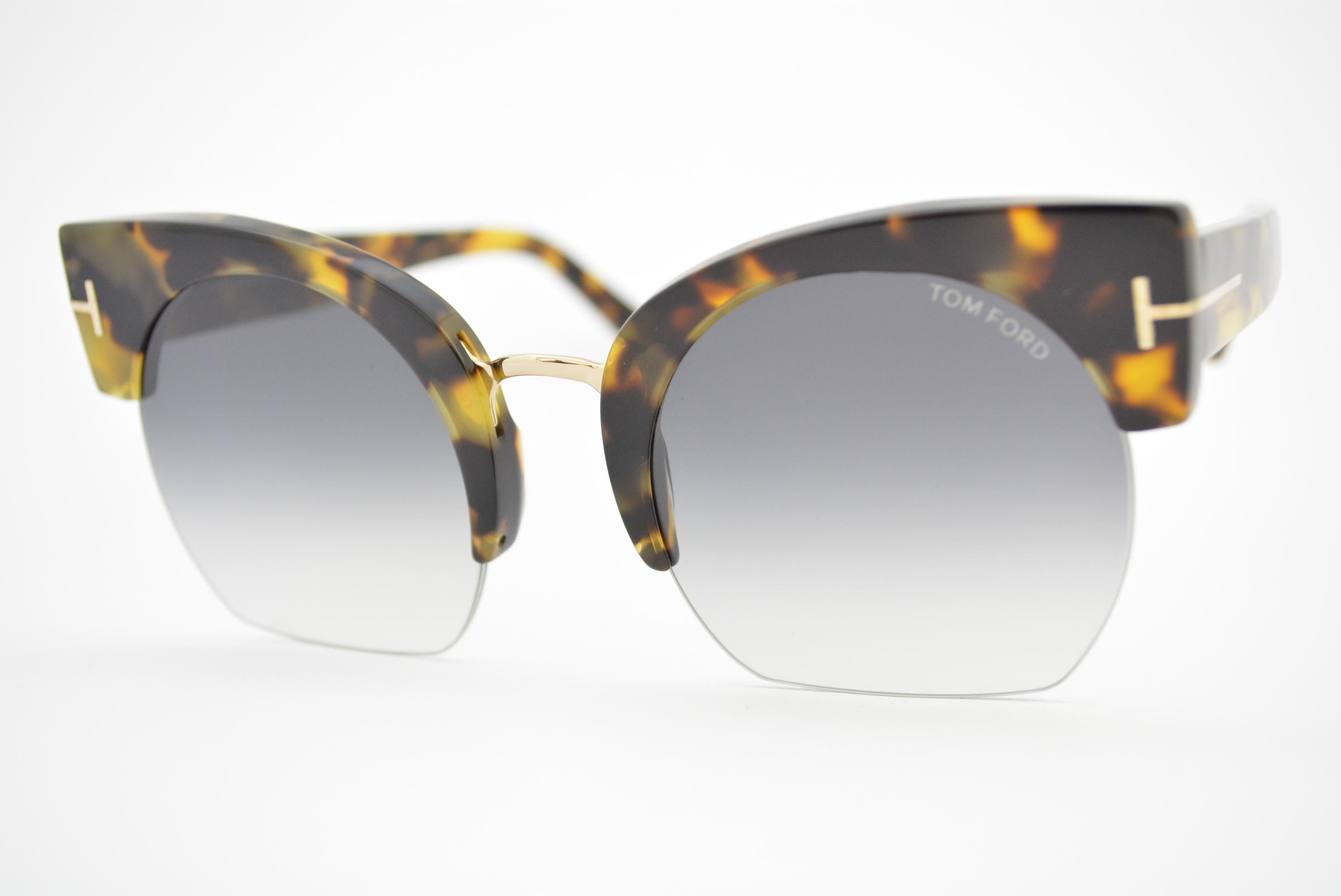8e1454c8e4841 óculos de sol Tom Ford mod Savannah-02 TF552 56b Ótica Cardoso