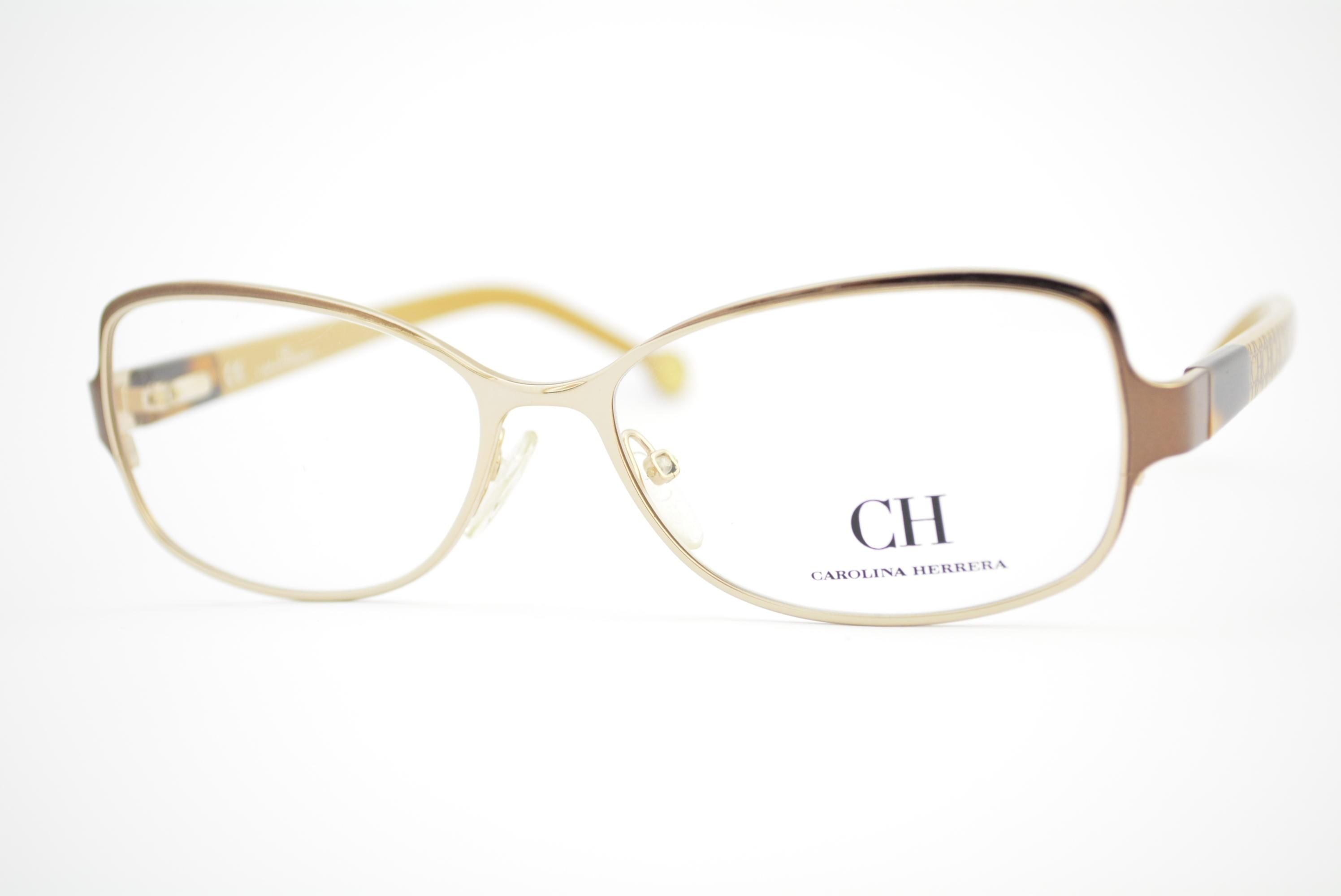 armação de óculos Carolina Herrera mod vhe022 col.OR26 Ótica Cardoso 24619ba133