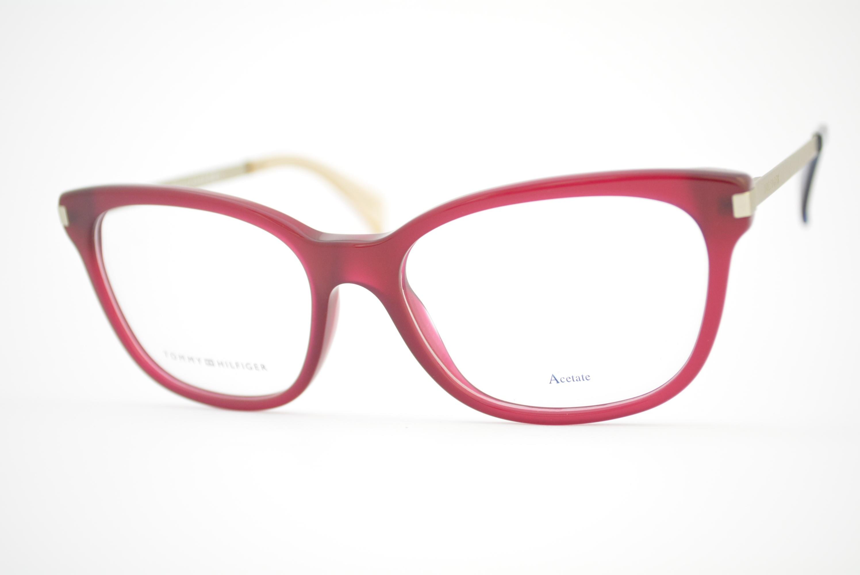 c8ace89ea2dab armação de óculos Tommy Hilfiger mod th1381 QEI