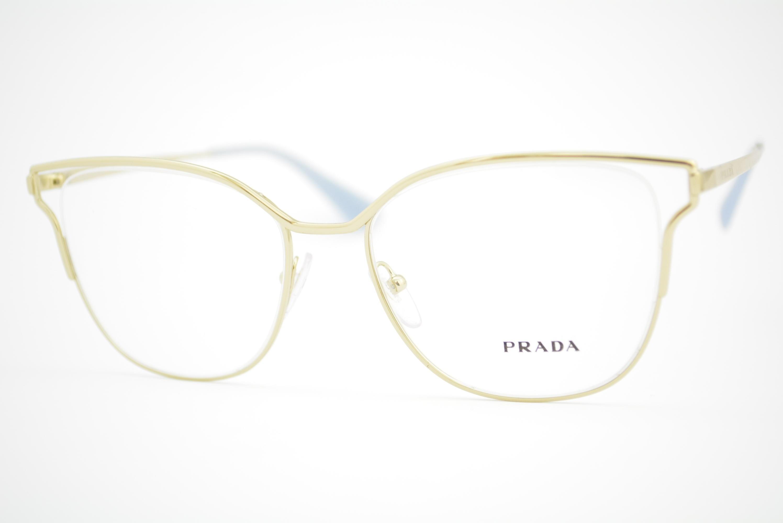 ae5b9eea61760 armação de óculos Prada mod vpr54U ZVN-1O1 Ótica Cardoso