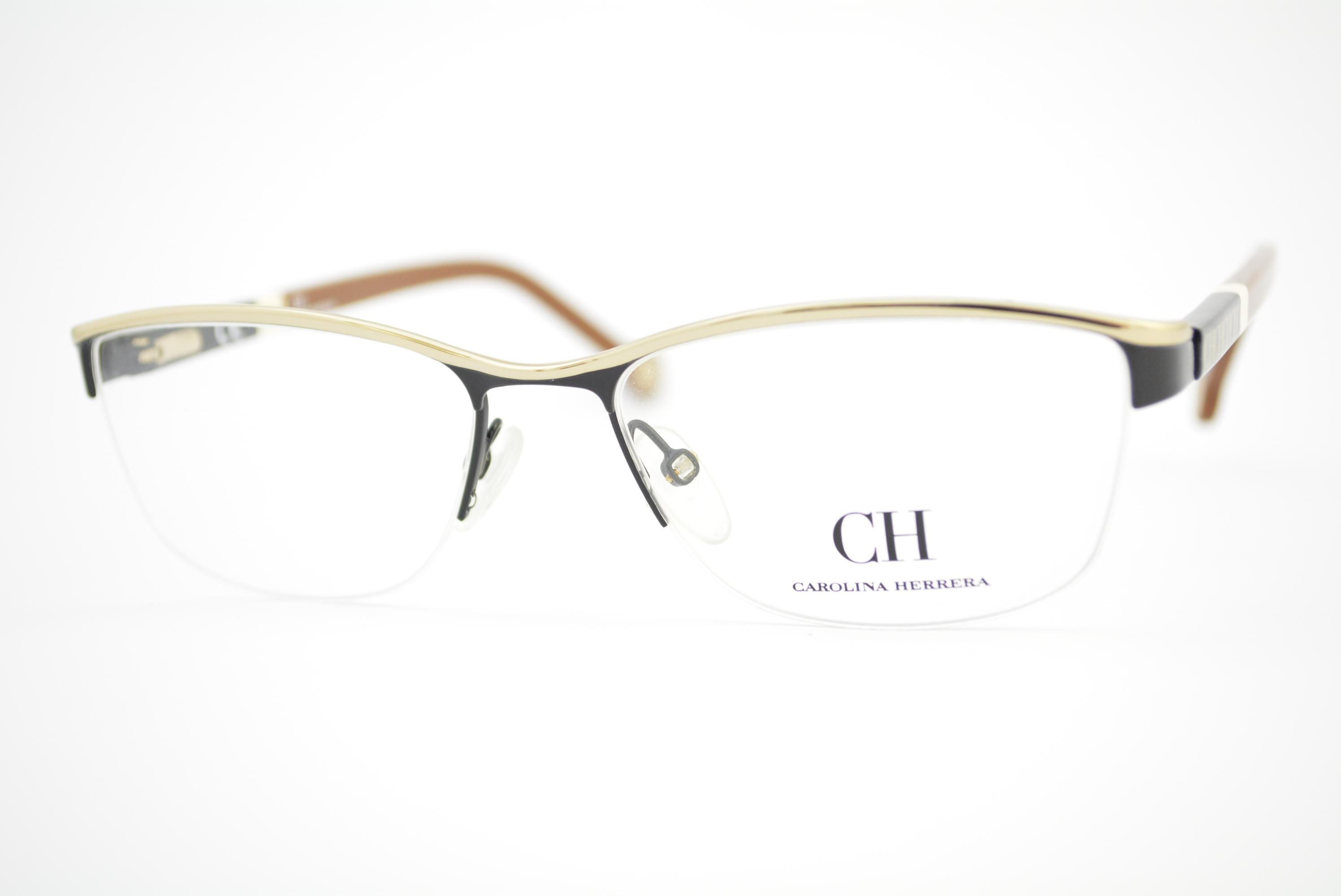 5931ac644 armação de óculos Carolina Herrera mod vhe041 col.0530 Ótica Cardoso