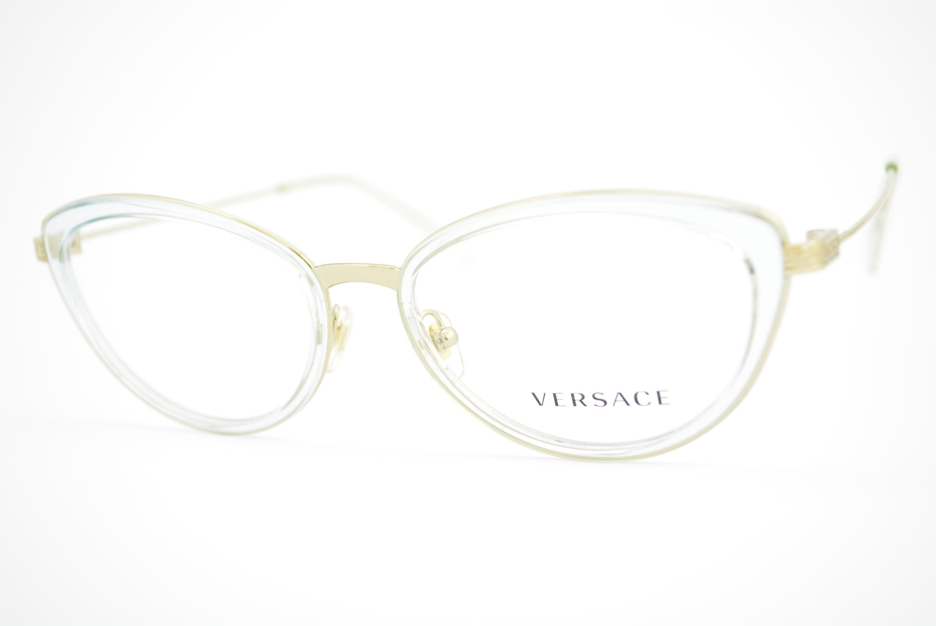 50b8dcf92 armação de óculos Versace mod 1244 1405 Ótica Cardoso