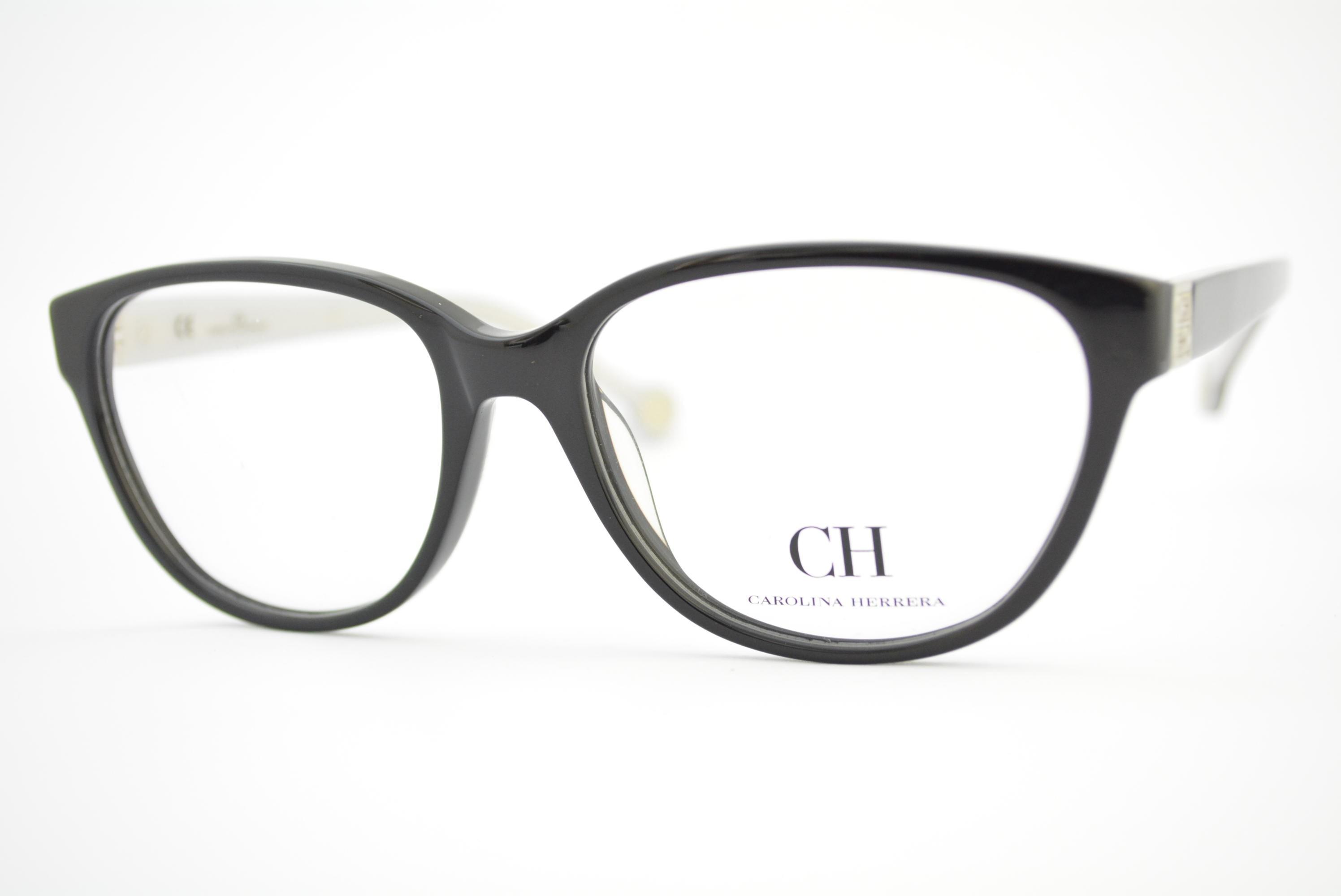 armação de óculos Carolina Herrera mod vhe554 col.0700 Ótica Cardoso 80a7f681d2