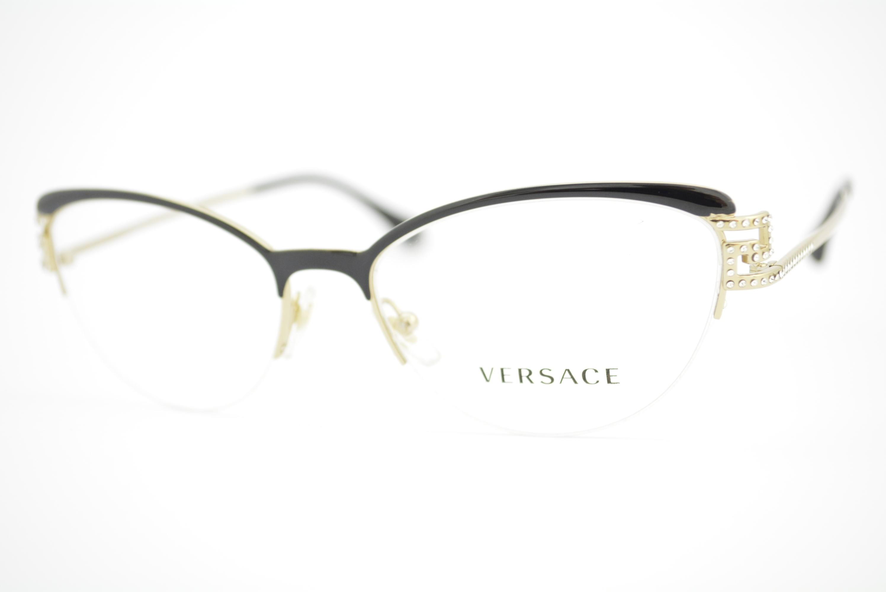 b87dbaa96 armação de óculos Versace mod 1239-B 1291 Ótica Cardoso