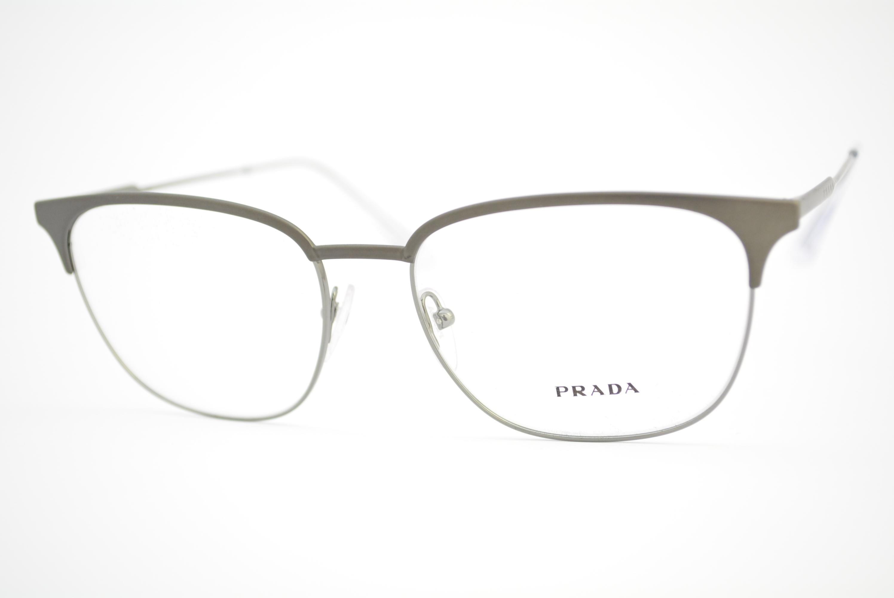 36f3f04764980 armação de óculos Prada mod vpr59U TY3-1O1 Ótica Cardoso