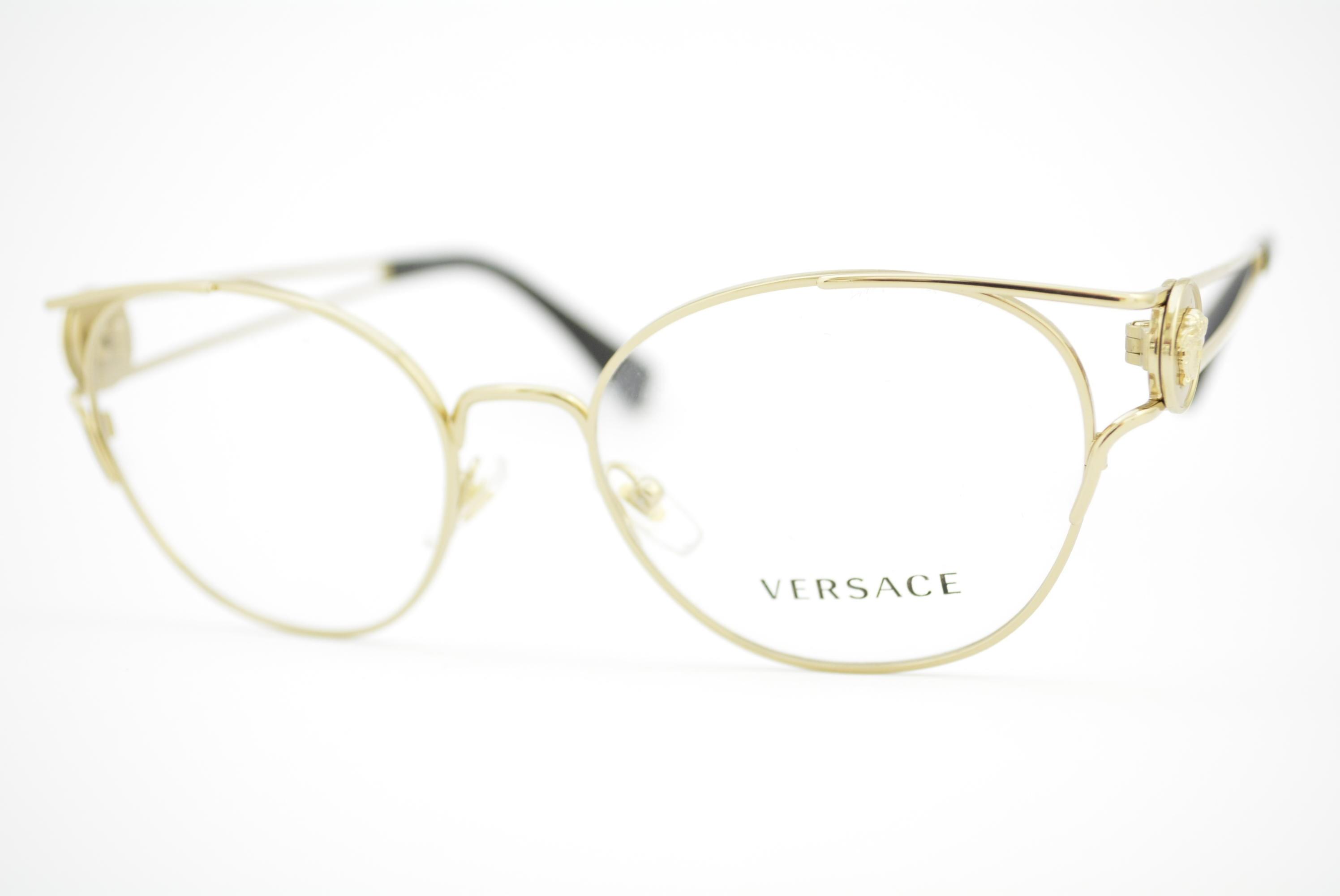 b9a385a013c04 armação de óculos Versace mod 1250 1252 Ótica Cardoso