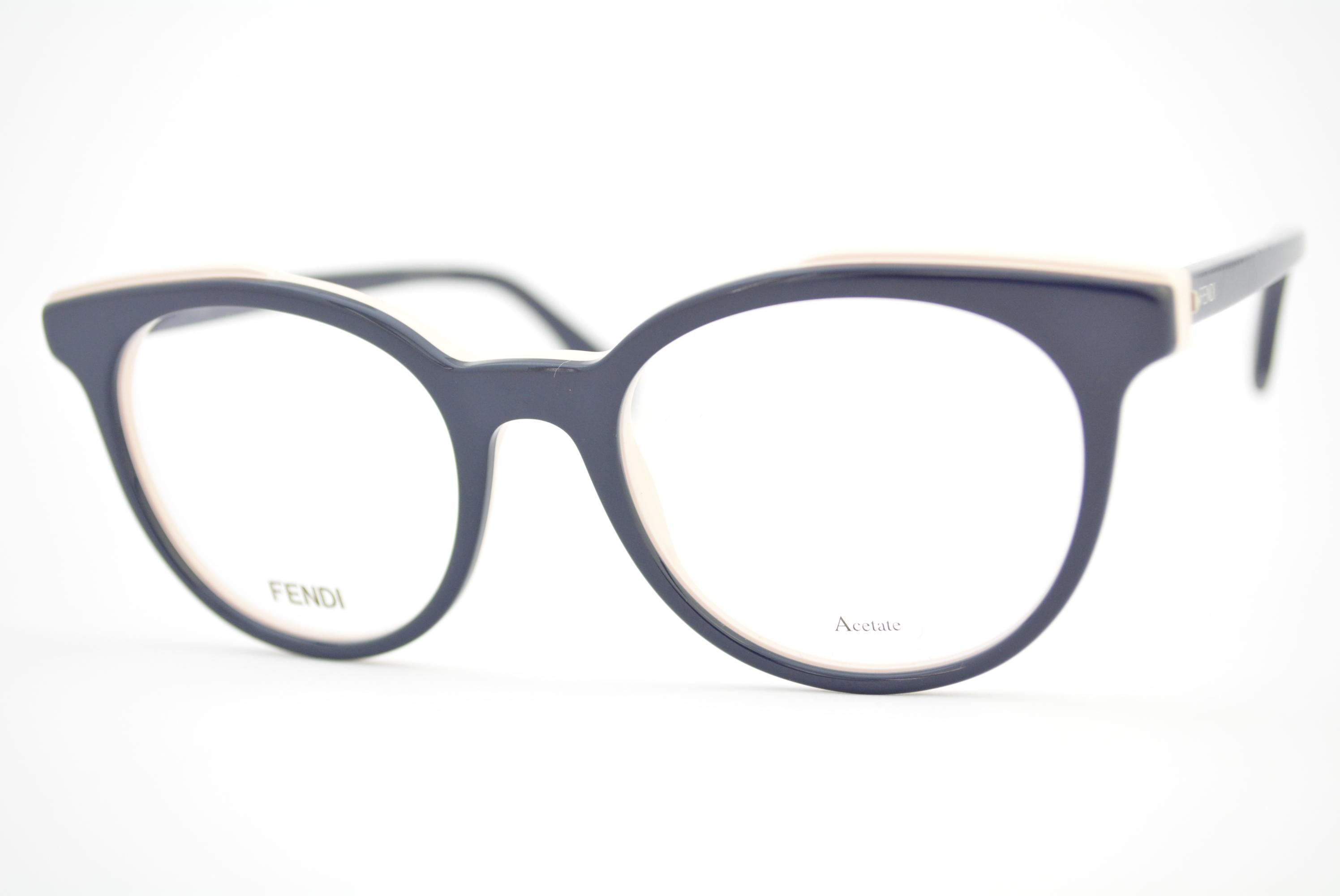 armação de óculos Fendi mod FF0249 pjp