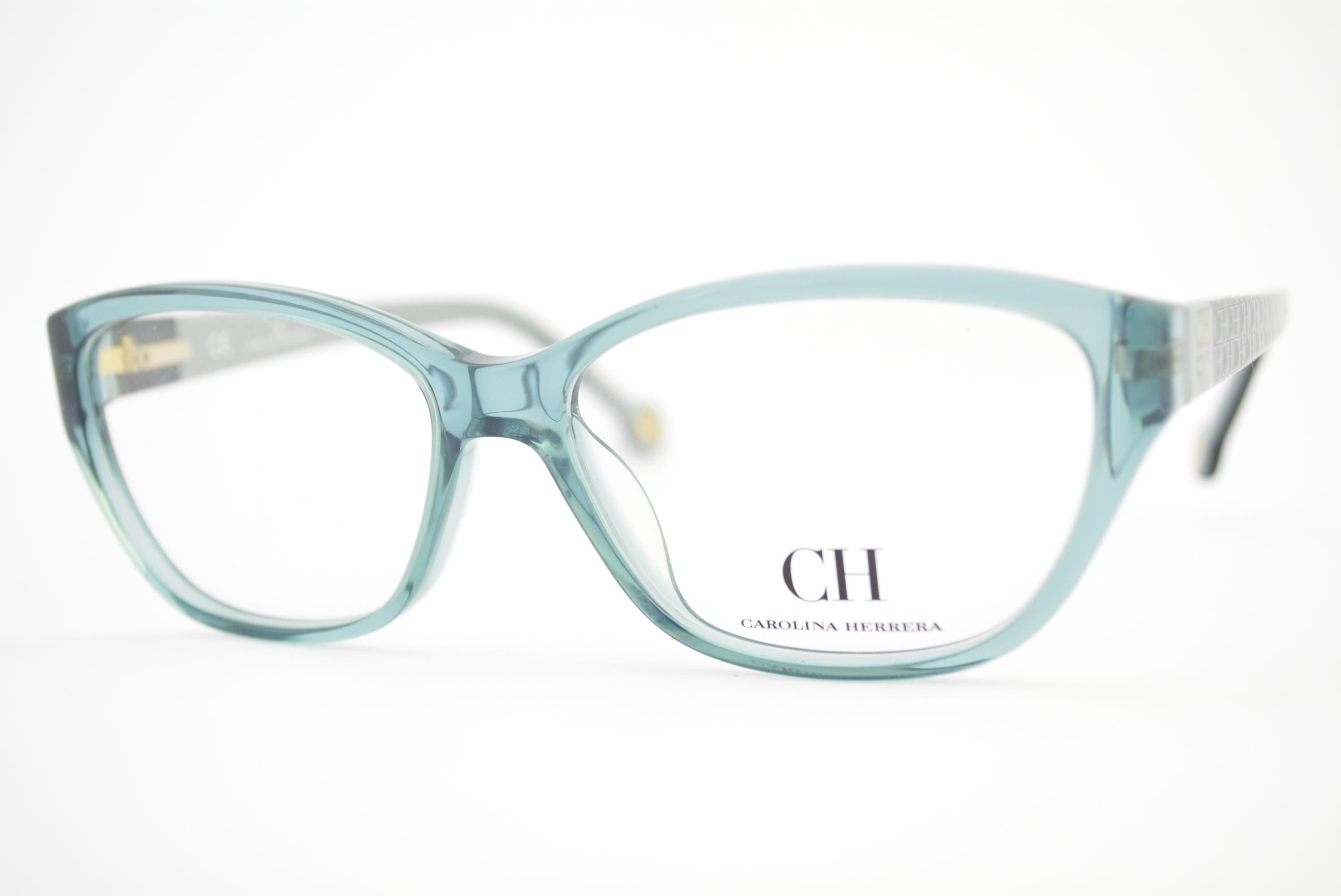 armação de óculos Carolina Herrera mod vhe564 col.ov93 Ótica Cardoso 05e18866e4