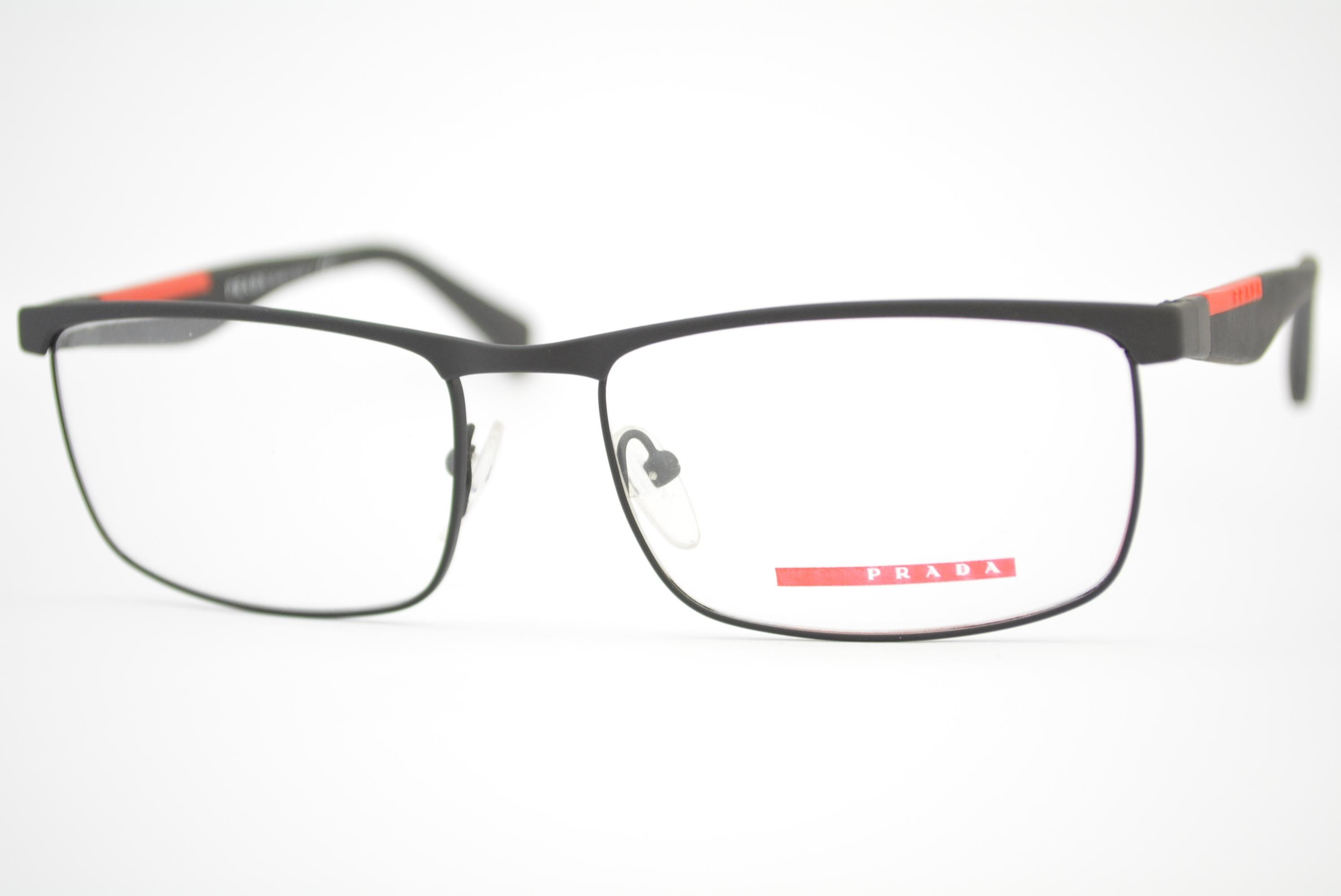 1b024bd614a1a armação de óculos Prada Linea Rossa mod vps54F DGO-1O1 Ótica Cardoso