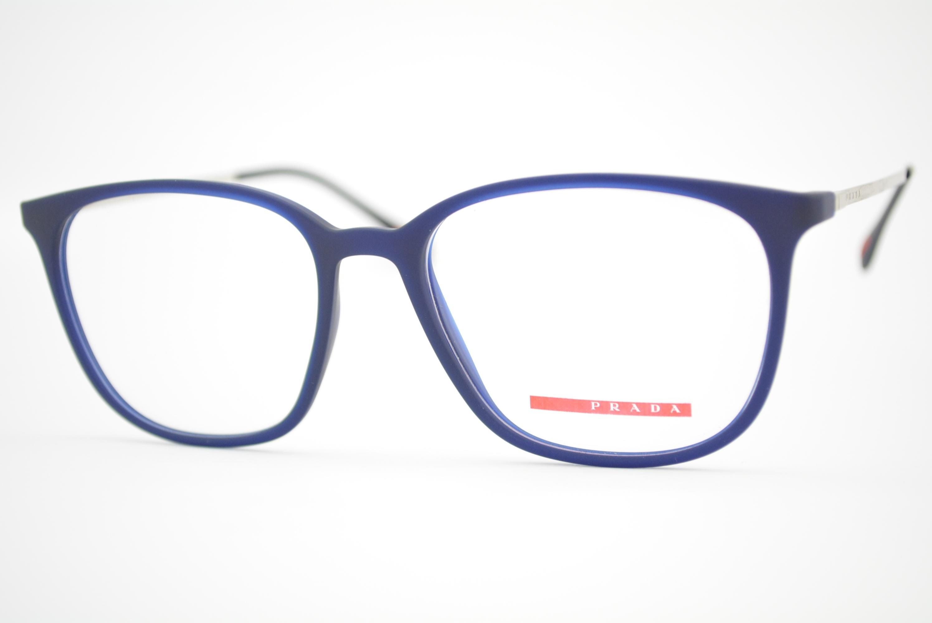 armação de óculos Prada Linea Rossa mod vps03I U63-1O1 Ótica Cardoso 9ba22c6be6