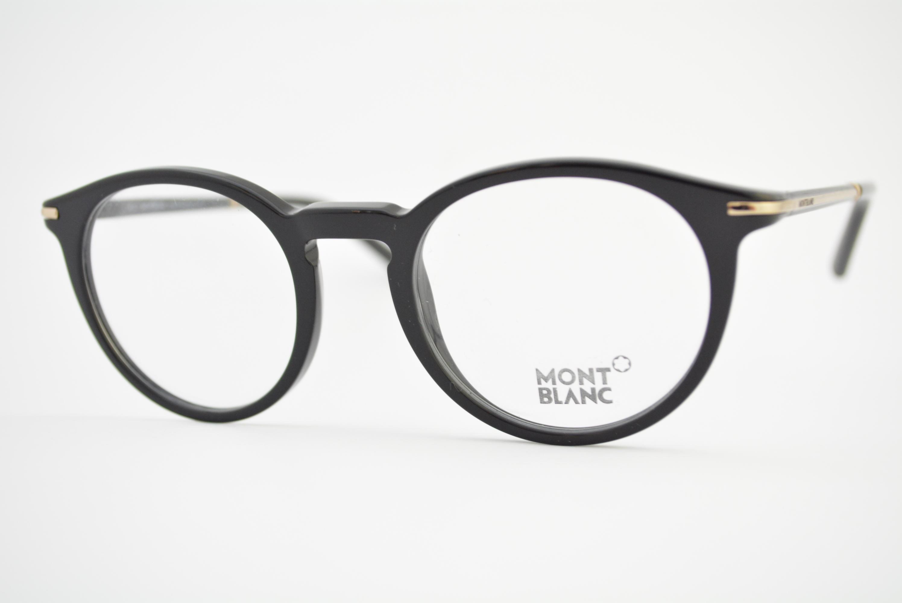 armação de óculos Mont Blanc mod mb625 A01