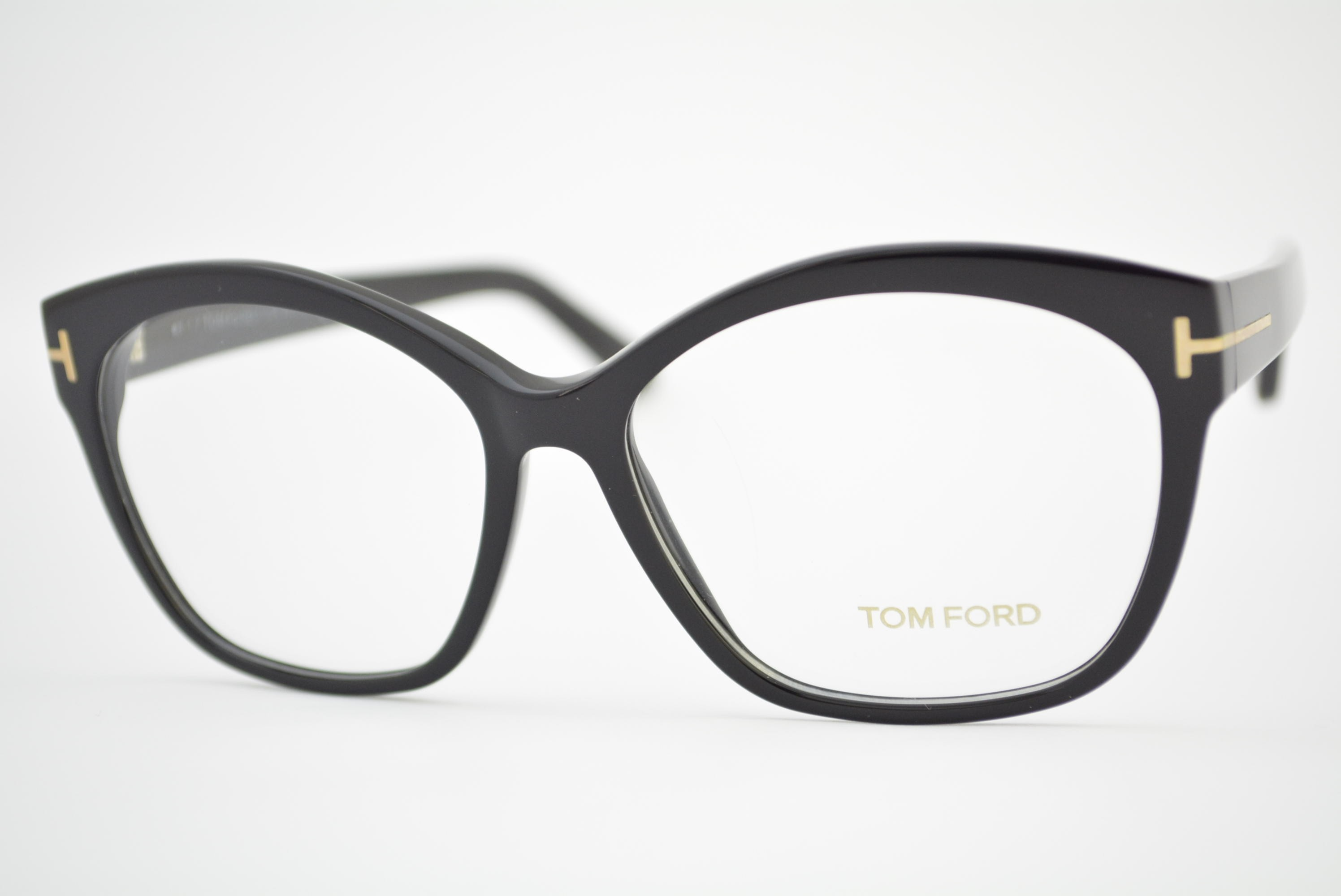 armação de óculos Tom Ford mod TF5435 001 Ótica Cardoso 6c657a600b