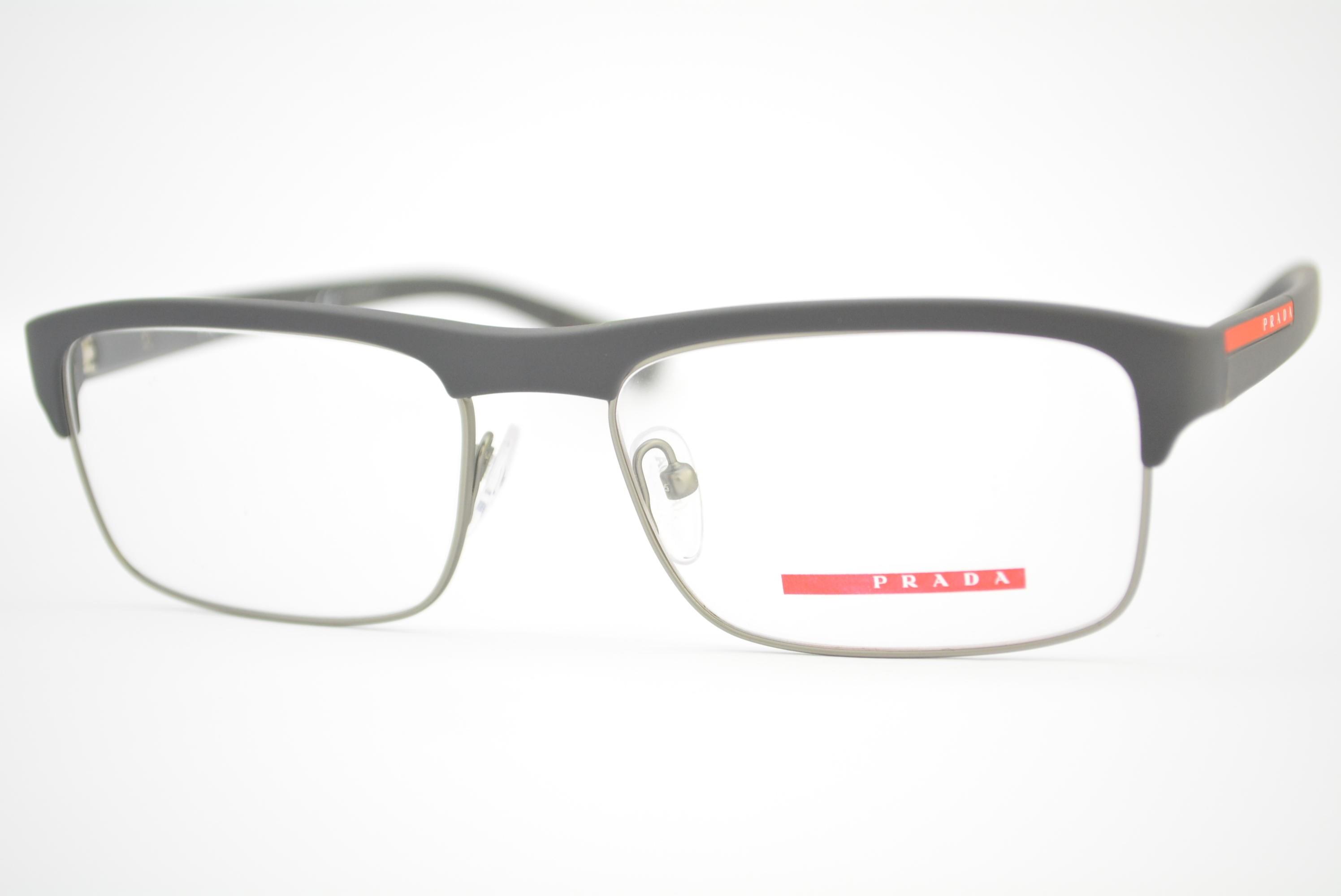 b7b56c1ef armação de óculos Prada Linea Rossa mod vps06F TFZ-1O1 Ótica Cardoso