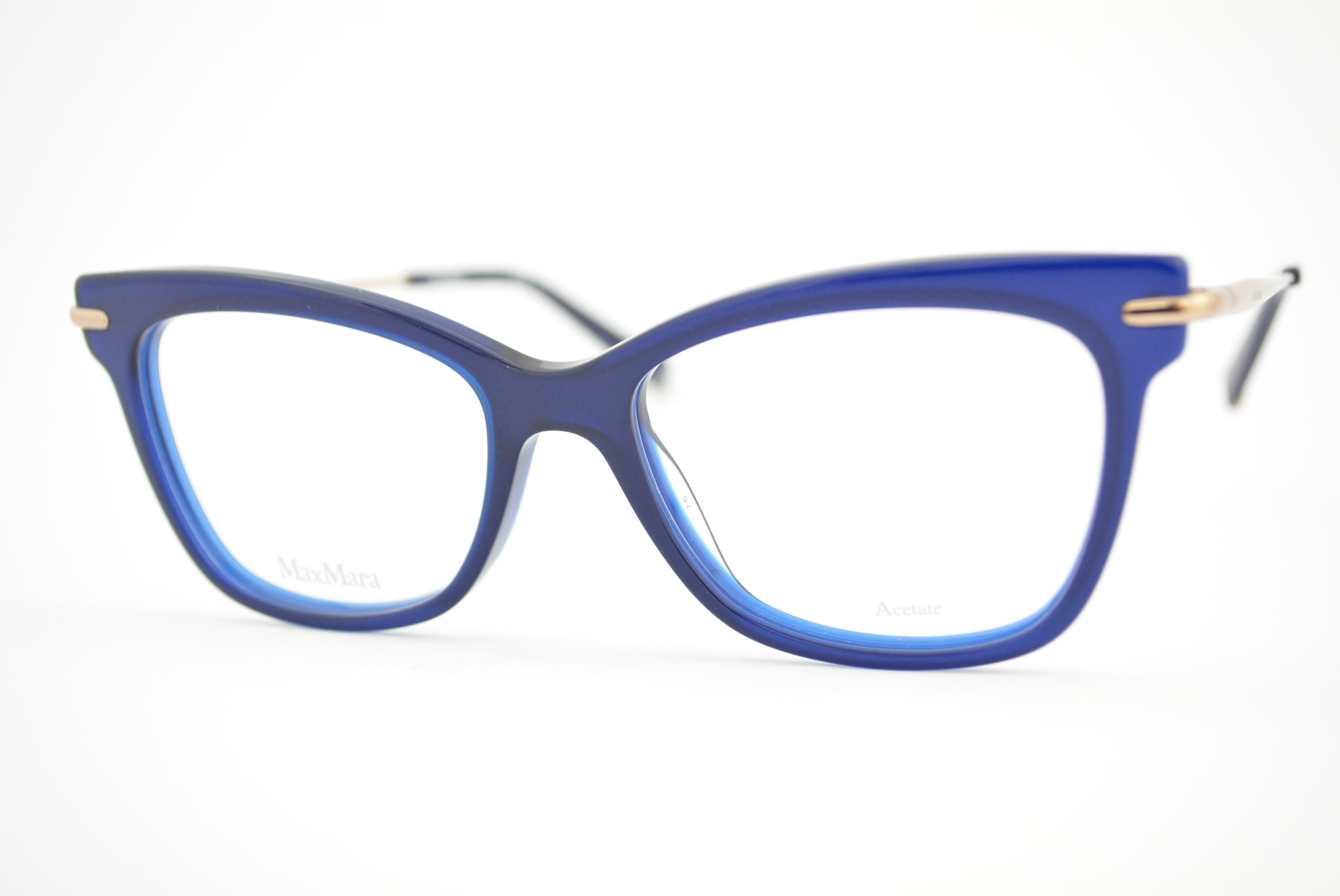 armação de óculos Max Mara mod mm1309 pjp
