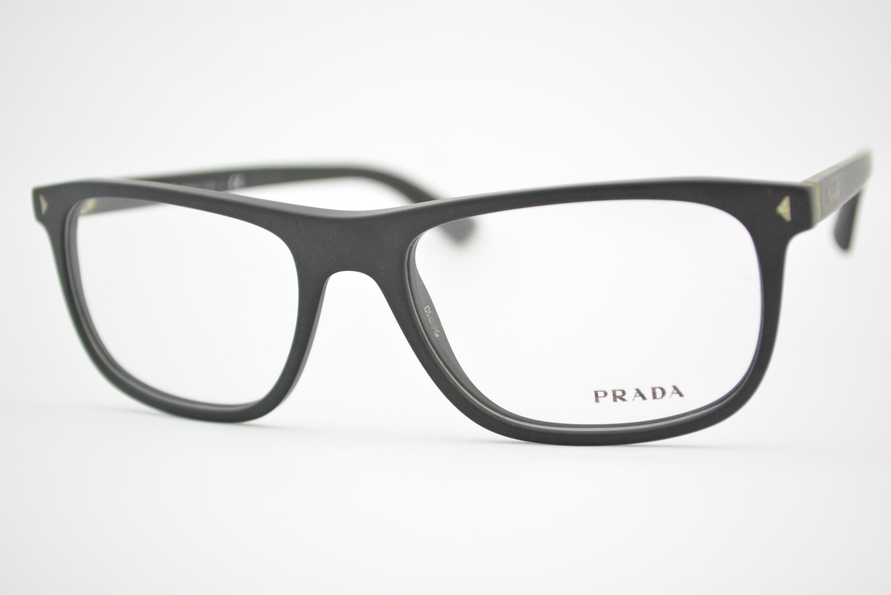 7f446a96c armação de óculos Prada Journal mod vpr03R 1BO-1O1 Ótica Cardoso