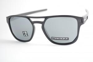 88e49174f0430 óculos de sol Oakley mod Latch Beta matte black w prizm black polarized  9436-