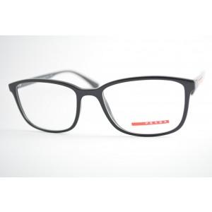 armação de óculos Prada Linea Rossa mod vps04I 1AB-1O1