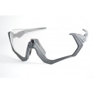 265b8406151c9 óculos de sol Oakley mod Flight Jacket steel w clear black iridium  photochromic 9401-