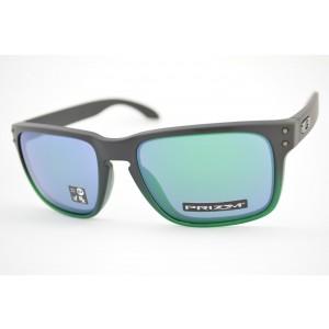 óculos de sol Oakley mod Holbrook jade fade w/prizm jade iridium 9102-E455