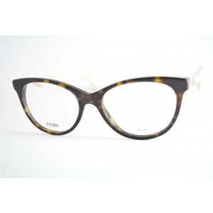 armação de óculos Fendi mod FF0201 0t4