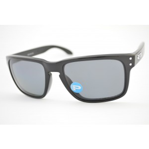 óculos de sol Oakley mod Holbrook polished black w/grey polarized 009102L-02
