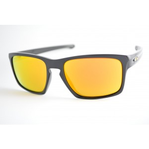 6bb5613fb1a2f óculos de sol Oakley mod Sliver polished black w fire iridium Valentino  Rossi Collection 009262