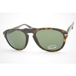 óculos de sol Persol mod 649 24/31 tamanho 54