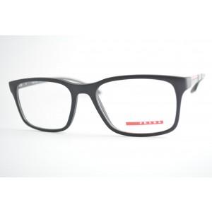 armação de óculos Prada Linea Rossa mod vps01L 1BO-1O1