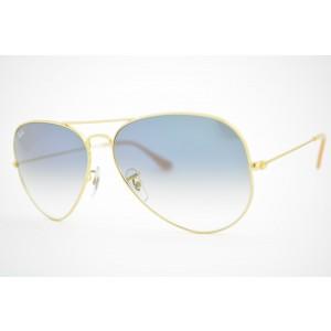 óculos de sol Ray Ban aviator large mod rb3025L 001/3F tamanho 58