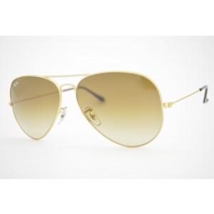 óculos de sol Ray Ban aviator large mod rb3025L 001/51 tamanho 58