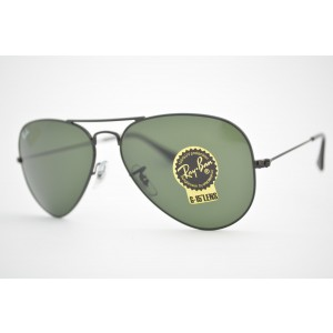 óculos de sol Ray Ban aviator large mod rb3025L L2823 tamanho 58