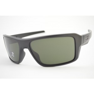óculos de sol Oakley mod Double Edge matte black w/dark grey 9380-0166