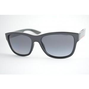 óculos de sol Prada Linea Rossa mod sps03Q 1AB-5W1 Polarizado