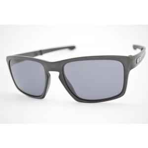 óculos de sol Oakley mod Sliver F matte black w/grey 009246-01