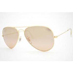 óculos de sol Ray Ban aviator large mod rb3025 001/3E tamanho 58