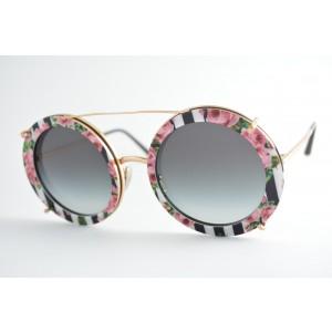 óculos de sol Dolce & Gabbana mod DG2198 1298/8g