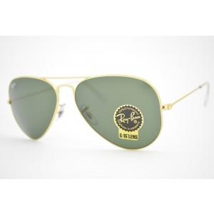 óculos de sol Ray Ban aviator large mod rb3025L L0205 Tamanho 58