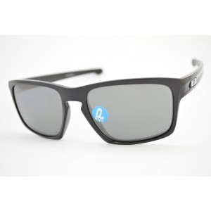óculos de sol Oakley mod Sliver polished black w/black iridium polarized 009262L-09