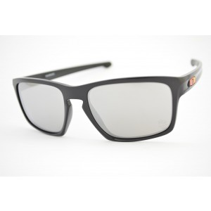 óculos de sol Oakley mod Sliver polished black w/chrome iridium Rio2016 009262-24