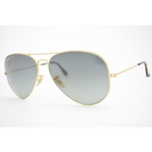 óculos de sol Ray Ban aviator large mod rb3025 181/71 tamanho 62