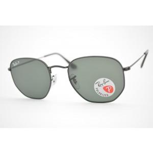 óculos de sol Ray Ban Hexagonal mod rb3548-N 002/58 tamanho 54